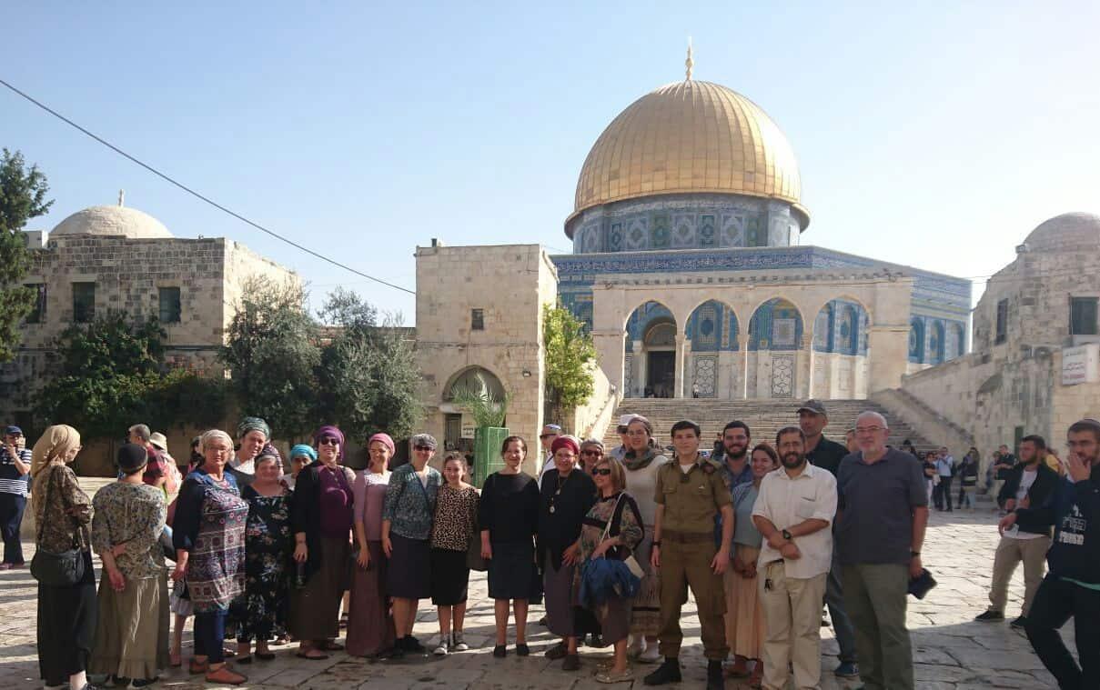 הר הבית: השבוע שחלף עמד שוב בסימן עלייה במספר היהודים שעלו למתחם
