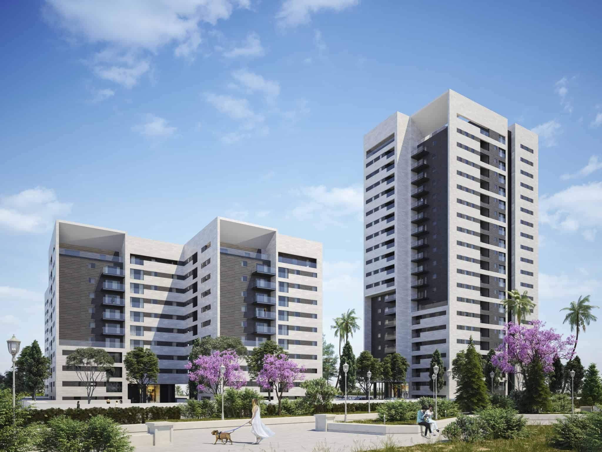 חיפה: החלו עבודות הבנייה בפרויקט המגורים החדש בקריית אליעזר