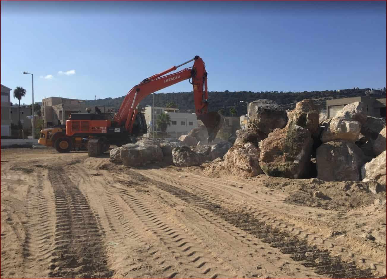 חיפה: הושלם שיקום שובר הגלים בחוף בת גלים