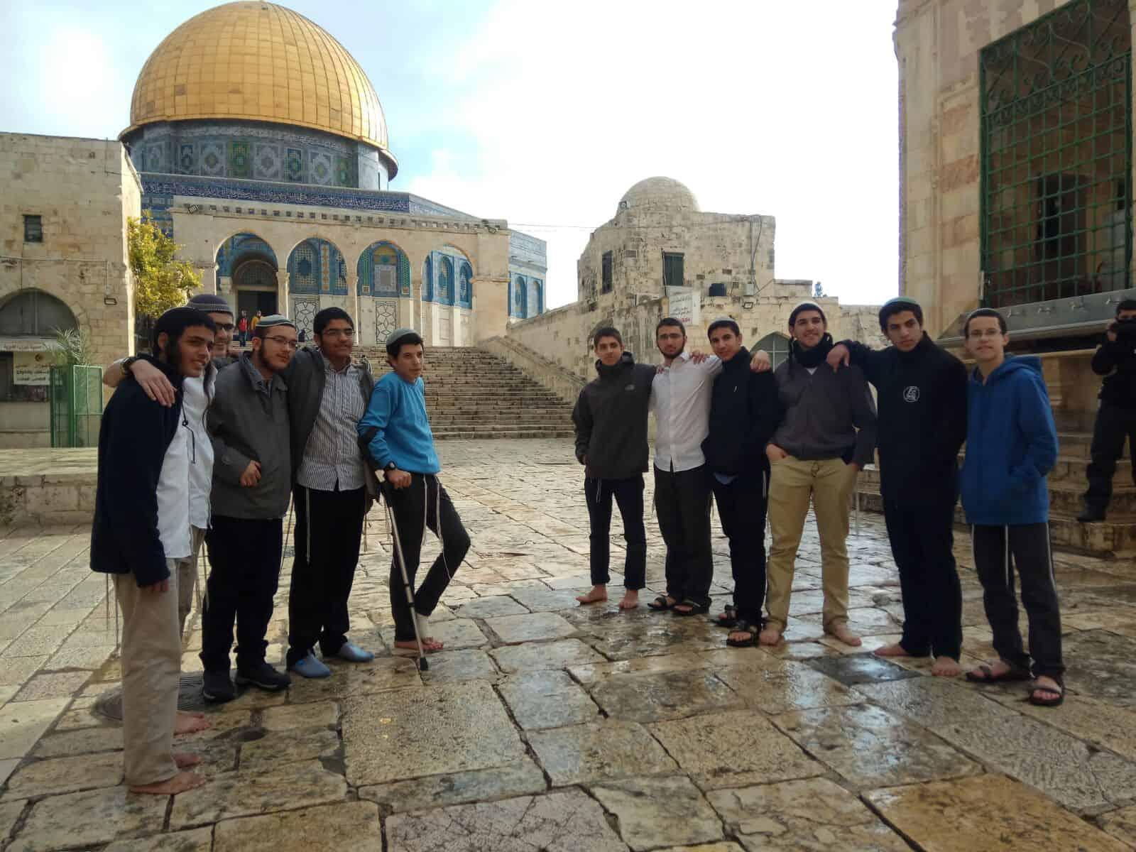 400 יהודים עלו השבוע להר הבית