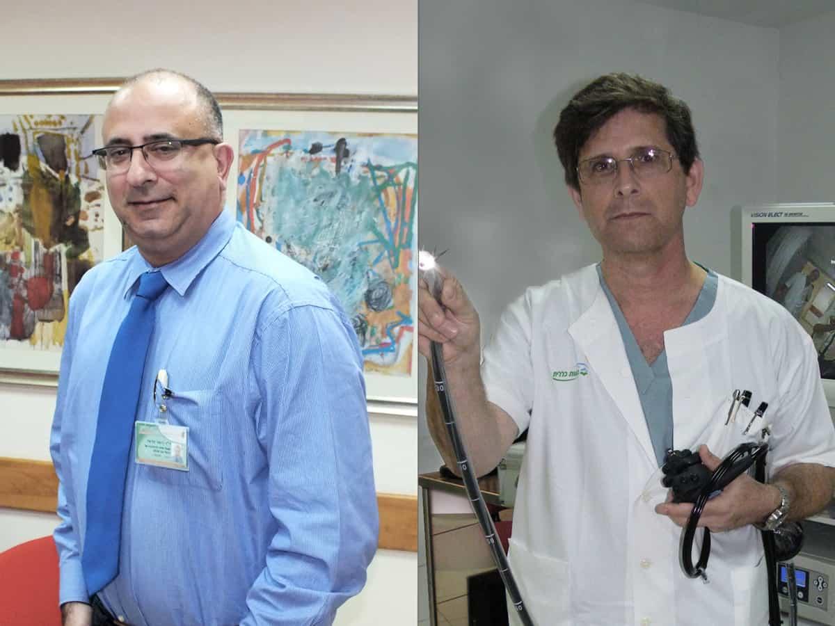 """חודש המודעות לסרטן המעי הגס: בביה""""ח כרמל שניים מהמומחים בתחום בישראל"""