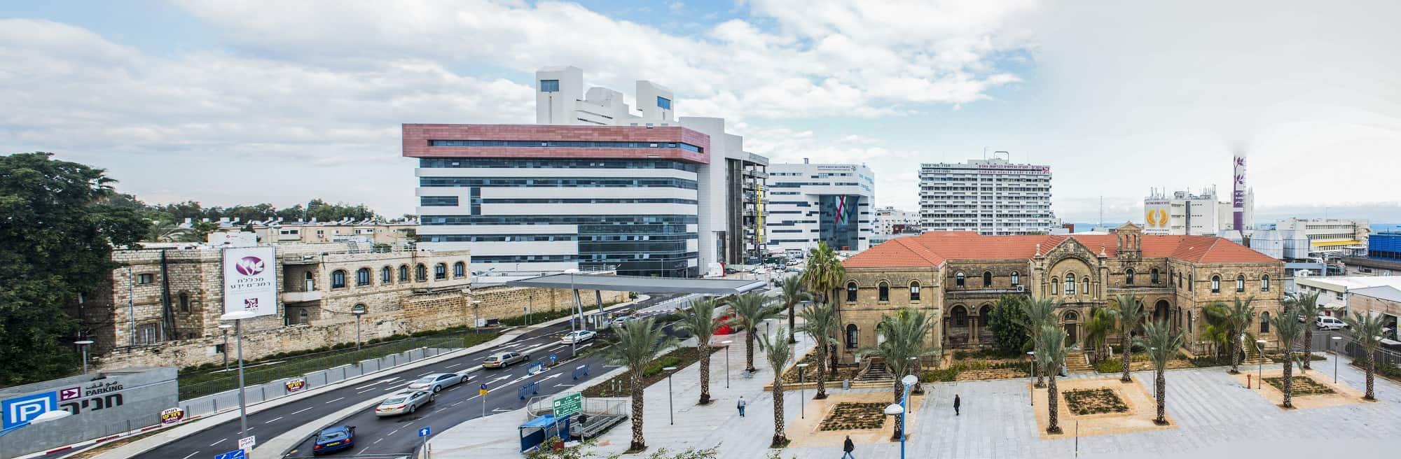 """עומס חריג במרכז המיון של ביה""""ח רמב""""ם בחיפה"""