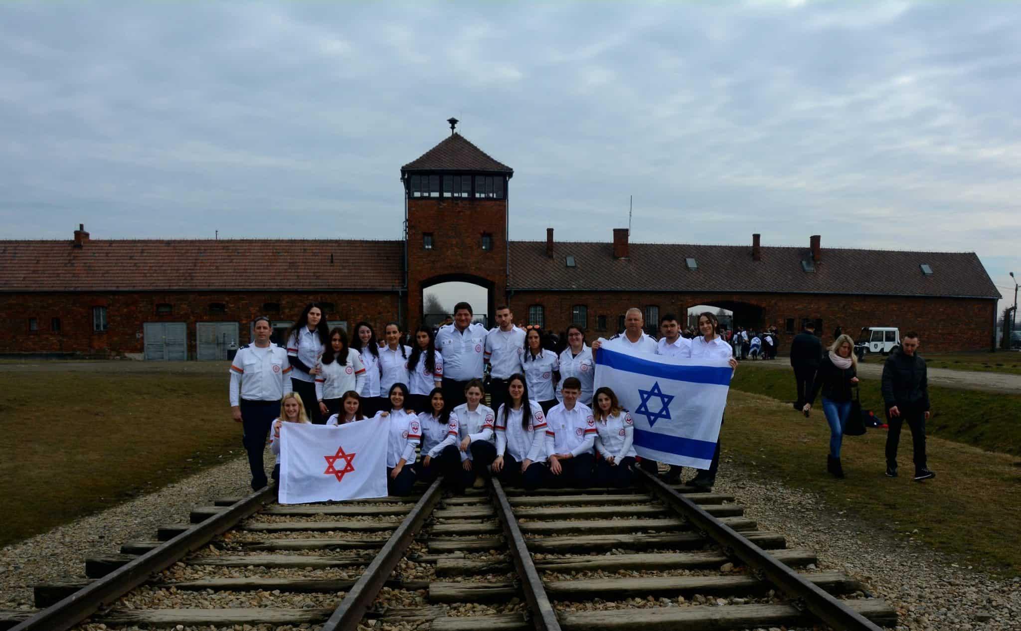 """משלחת מד""""א לפולין: לזכור ולא לשכוח"""