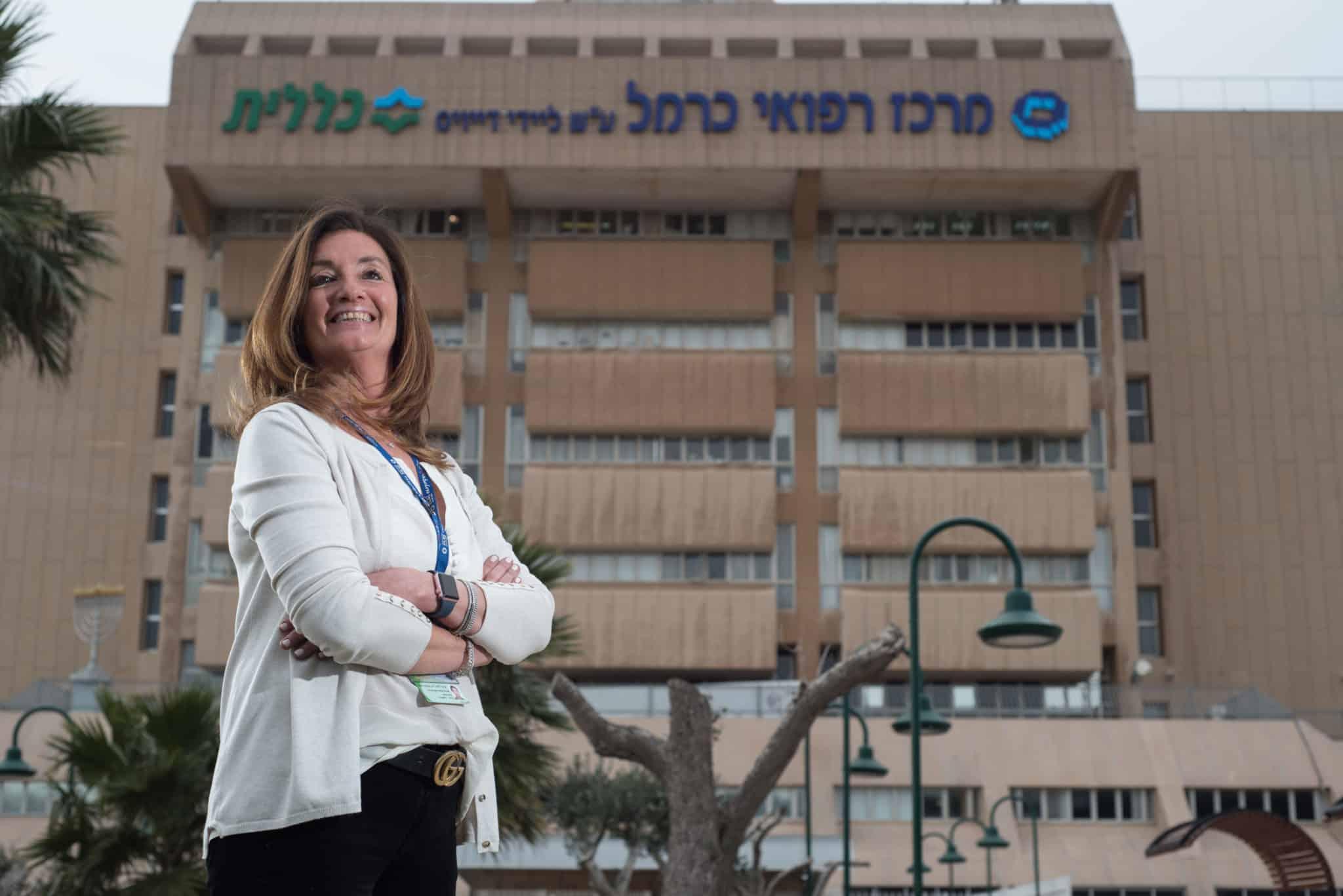 """ביה""""ח כרמל: המנהלת האדמנסטרטבית נבחרה בין הנשים החזקות בישראל"""