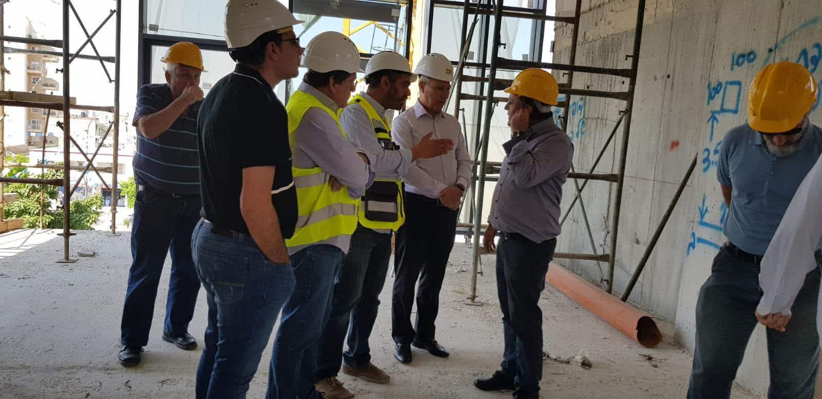 קרית אתא : הולך ונבנה בניין העירייה החדש