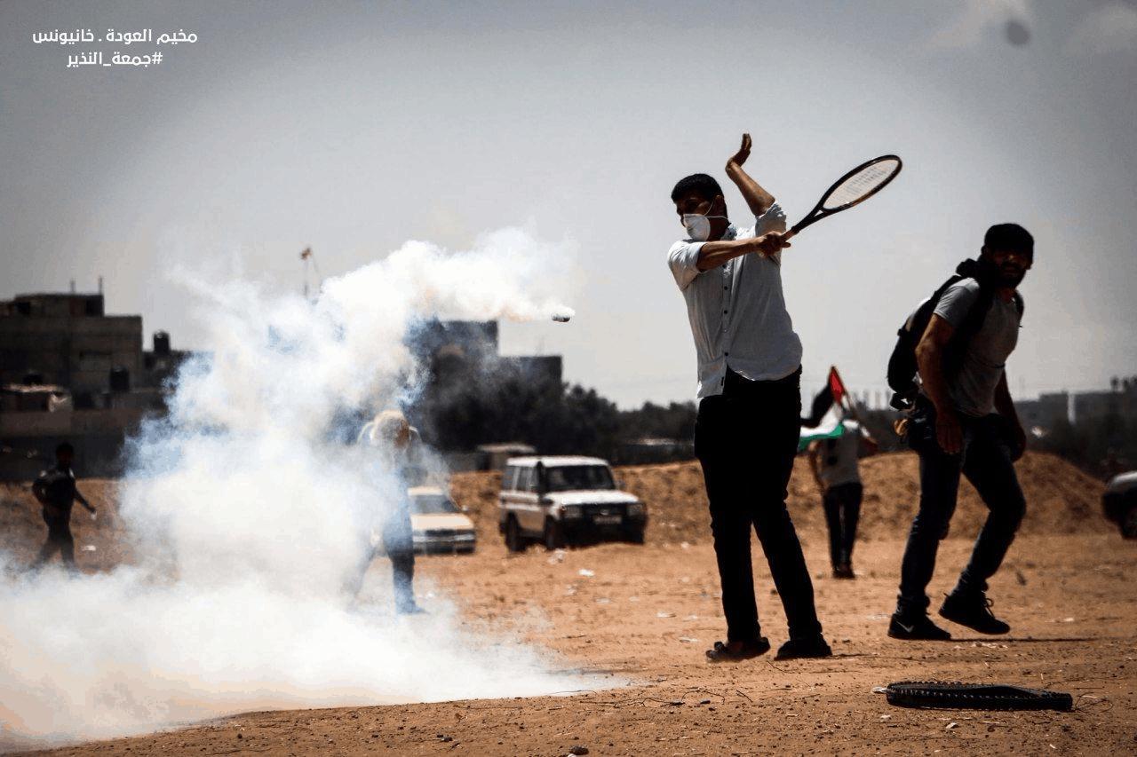 גבול הרצועה: התפרעויות של כ-5000 פלסטינים