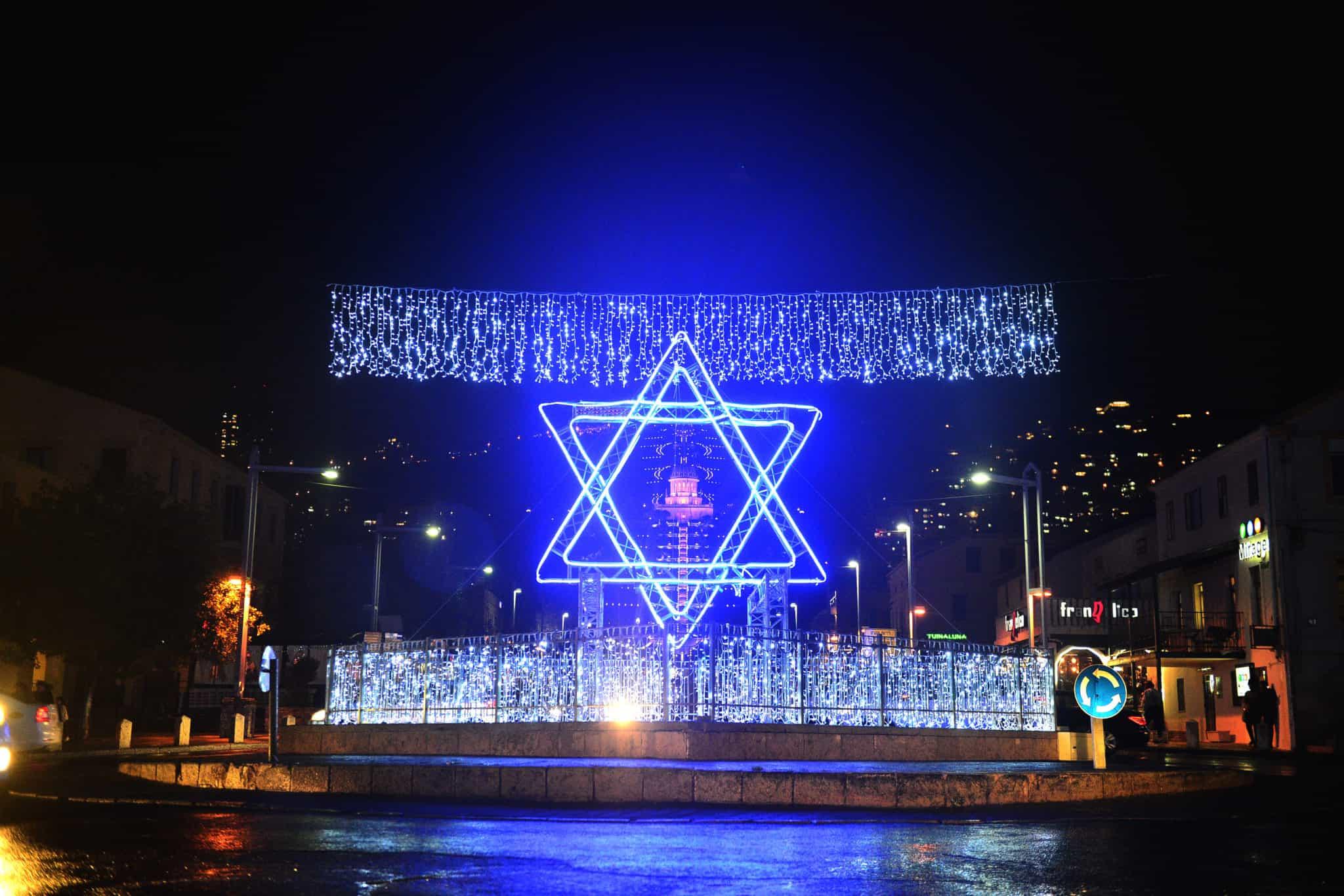 """הפגנות תמיכה בעזה וממול הפגנות הקוראות """"להשיב את חיפה לישראל"""""""