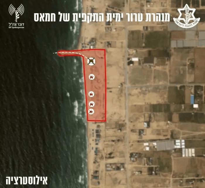 """צה""""ל: נוטרלה מנהרה התקפית ימית"""