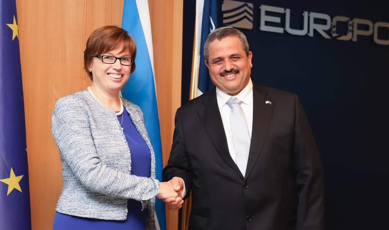 נחתם הסדר אסטרטגי  בין משטרת ישראל לבין היורופול סוכנות המודיעין הפלילי של האיחוד האירופי