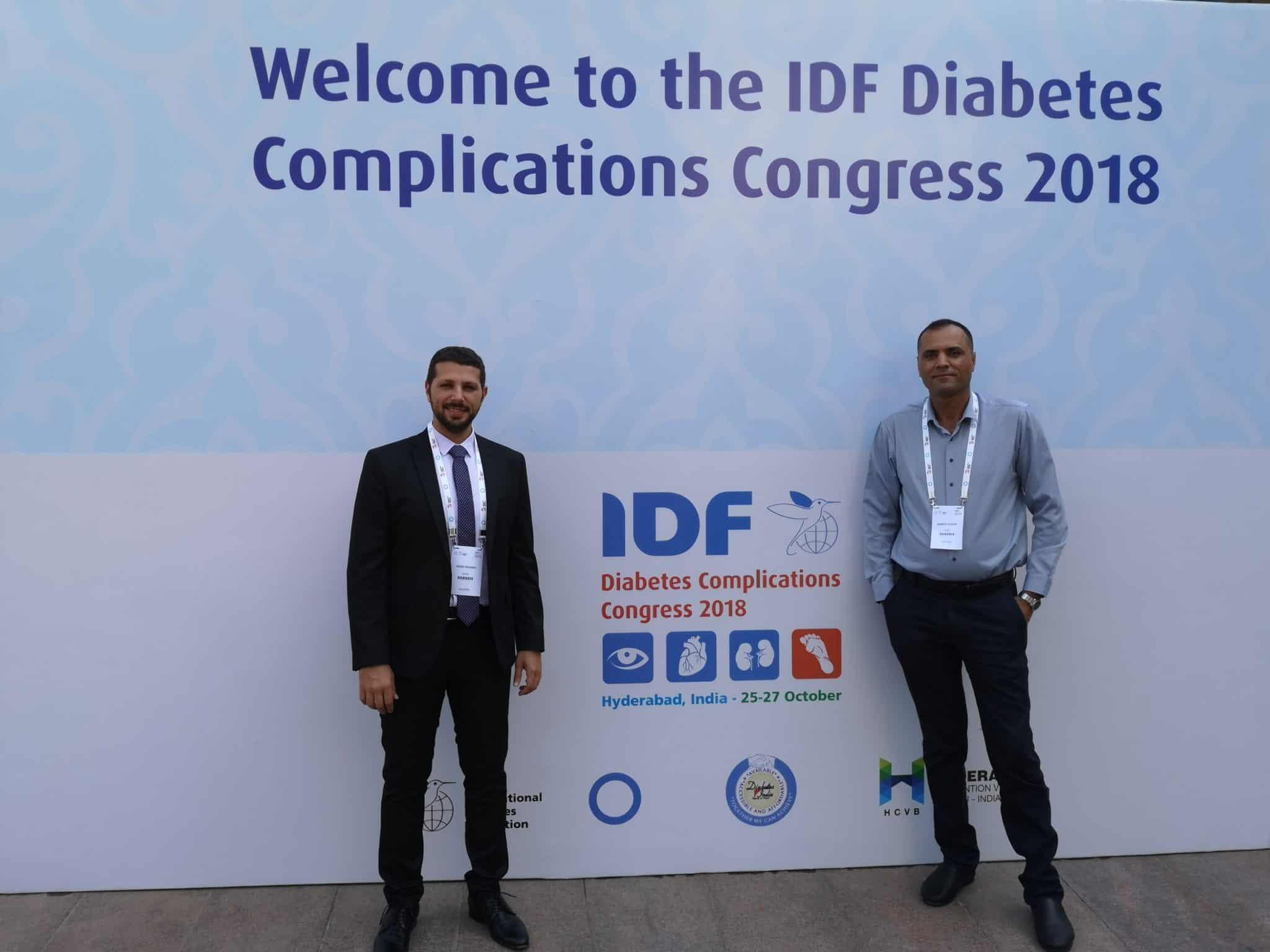 """מומחיםמבי""""ח כרמל הציגו עבודות מחקר בכנס הפדרציה הבינלאומי לסוכרת ה IDF בהודו"""