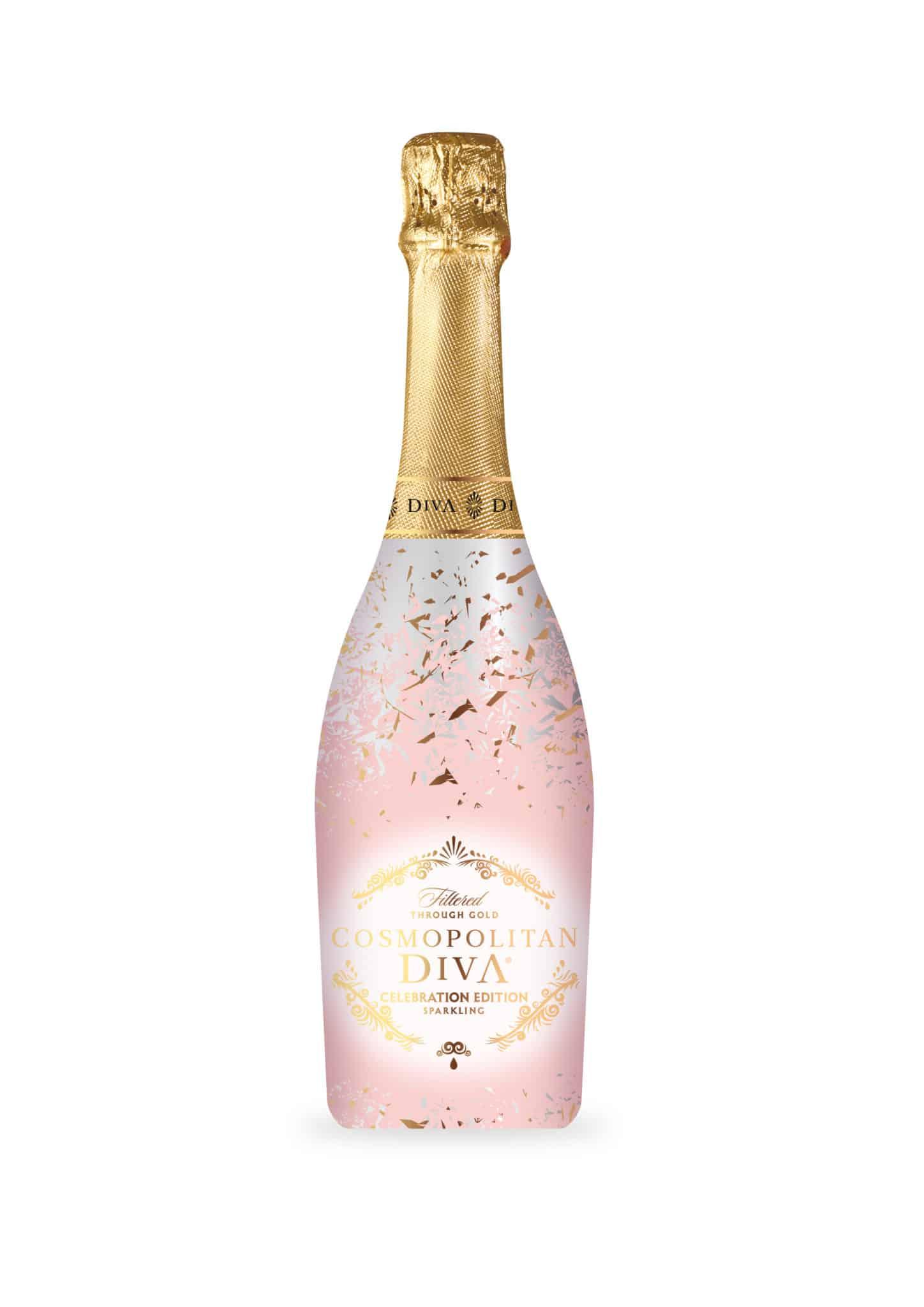 לשנה האזרחית החדשה: משקה דיווה קוסמופוליטן מבעבע בטעם אפרסק