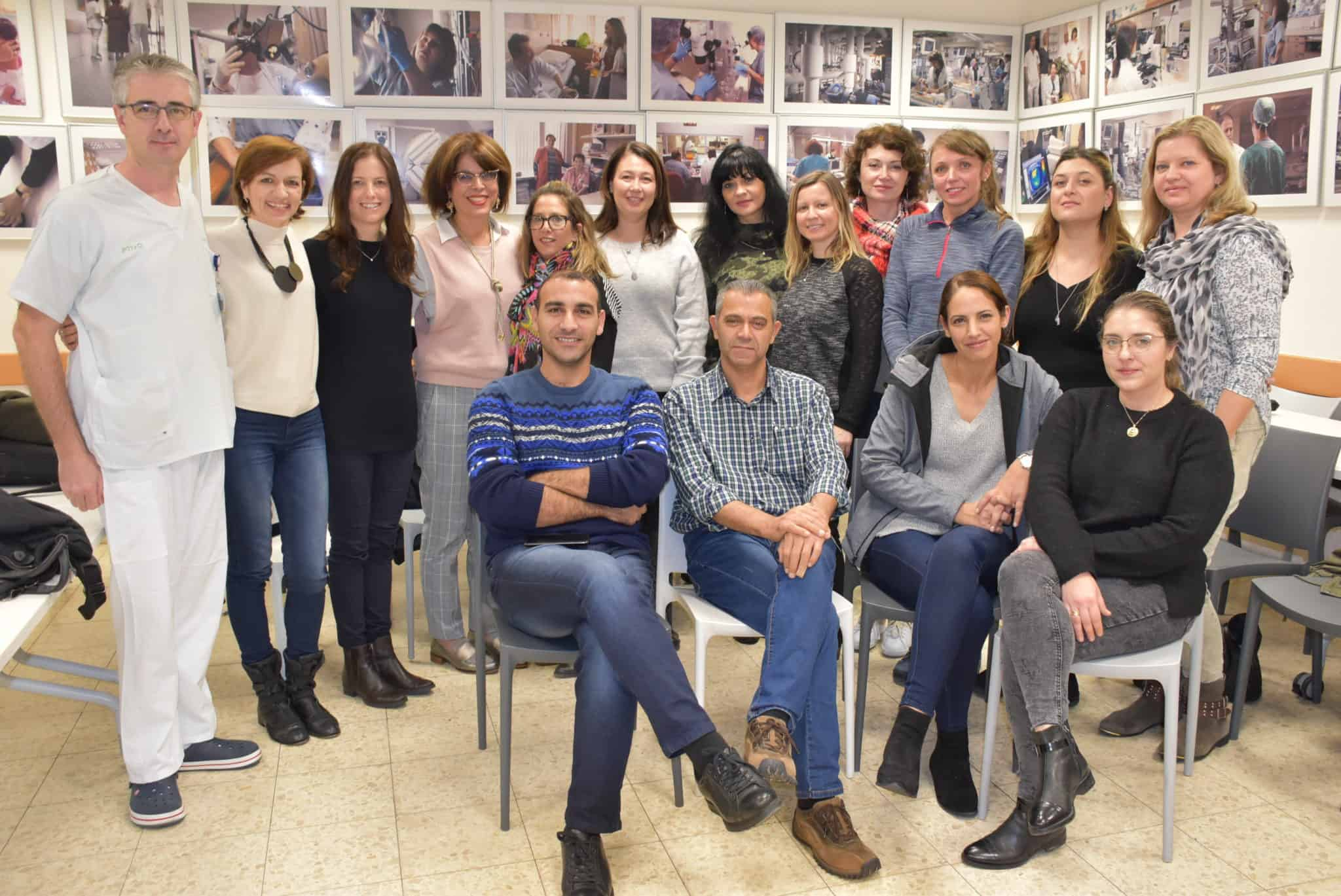 """ביה""""ח כרמל: סדנה מתקדמת לאחיות קליניות"""