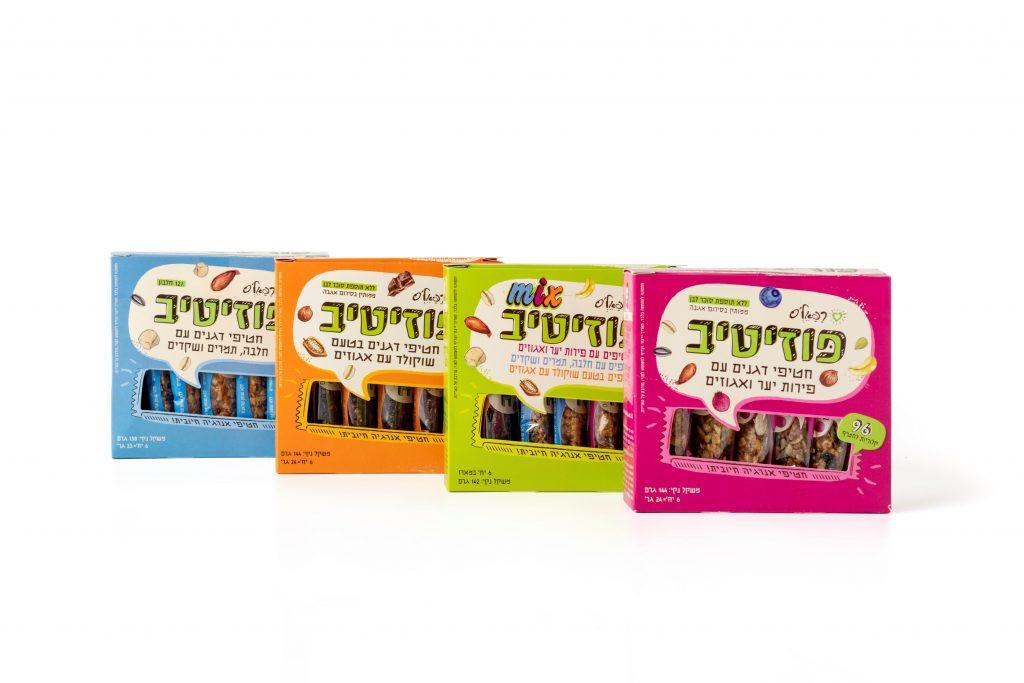 חברת רפאל'ס משיקה סדרה הכוללת 4 מוצרים המכילה רכיבים טבעיים ללא שומן טראנס ללא חומרים משמרים