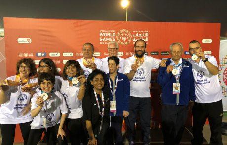 אולימפיאדת ספיישל אולימפיקס באבו דאבי ודובאי: מדליות למשלחת הישראלית