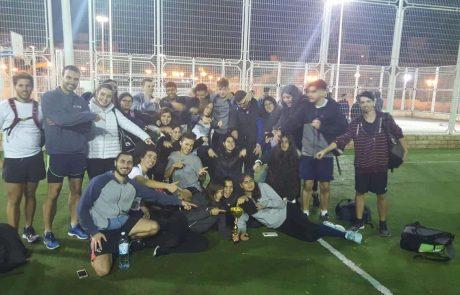 קרית אתא: מקום ראשון לתלמידים בספורט אתגרי
