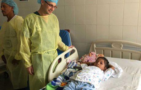 """רופא מרמב""""ם יצא עם המשלחת הישראלית לאזור האסון בגוואטמלה"""