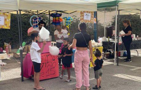 אופקים: מבקרים רבים בשוק הרוכלים הראשון