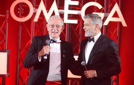 אומגה וג'ורג' קלוני חוגגים 50 שנה וקמפיין חדש