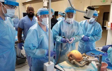 """ייצוג מרשים לרופאי רמב""""ם בכנס שנתי יוקרתי של אוני' ג'ונס הופקינס"""
