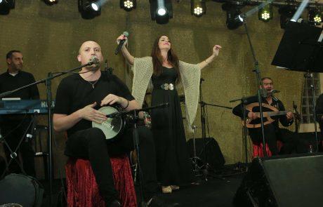 קרית ים: הזמרת המרוקנית סנעא מרחאטי הגיעה  במיוחד להופעה ייחודית