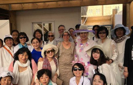 קבוצת תיירים סינים עלו השבוע להר הבית
