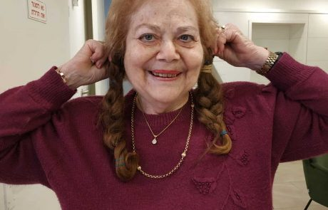 אחרי 73 שנים : תרומת שיער לחולות סרטן