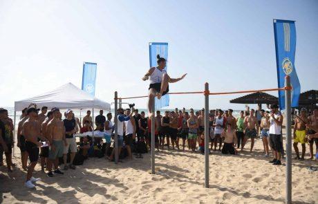 חיפה: תחרות ה-STREET WORKOUT התקיימה  במתחם ה – WORKOUT   בטיילת דדו