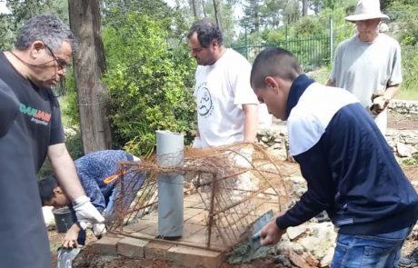 פרויקט קהילתי משותף של חברה בין לאומית