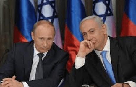 בנימין נתניהו לפוטין: חובתה וזכותה של ישראל להגן על עצמה מפני תוקפנות איראנית