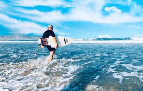 קרית ים: מקדמים את ספורט הגלישה בים