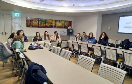 """תלמידי תיכון ביקרו ביקרו בביה""""ח כרמל"""