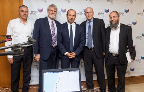 שר החינוך ויו״ר המל״ג נפתלי בפתח את שנת הלימודים האקדמית במרכז האקדמי לב בירושלים