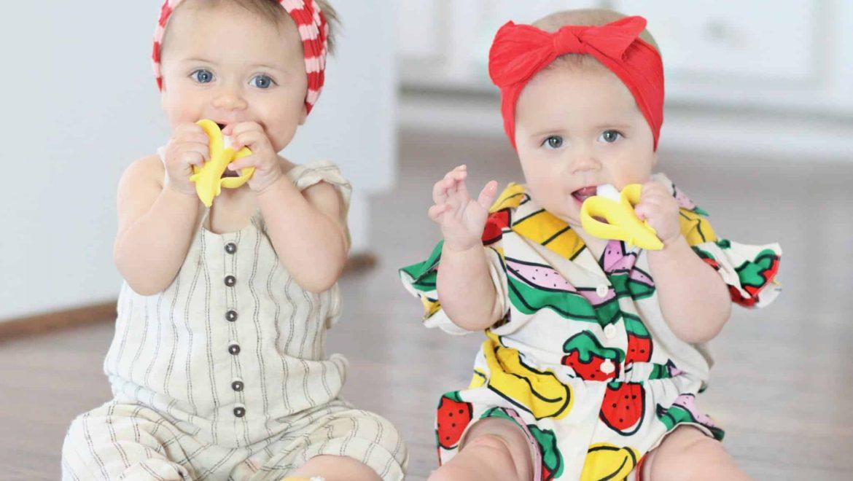 חדש לתינוקות: לצחצח עם בננה!