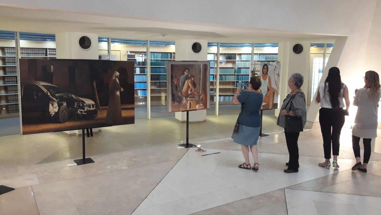 בית המשפט העליון: תערוכת 'דיוקן' – נשים באמנות