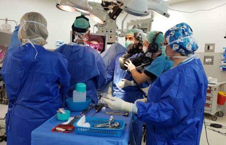 """רמב""""ם: ניתוח כריתת רחם ללא חתכים הועבר לראשונה בשידור חי לכנס בינל'"""