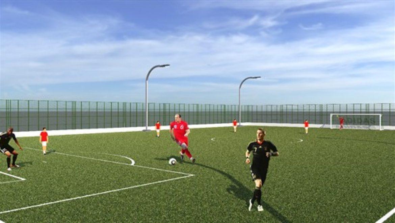 עיריית חיפה תקים מגרש כדורגל מיני-פיץ' בשכונת בת-גלים