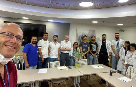"""לגעת בעתיד תוכנית מנטורינג ייחודית בביה""""ח כרמל בחיפה"""