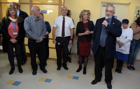 בבית האבות הספרדי בחיפה: נחנכו אשכולות דיור לסיעודיים