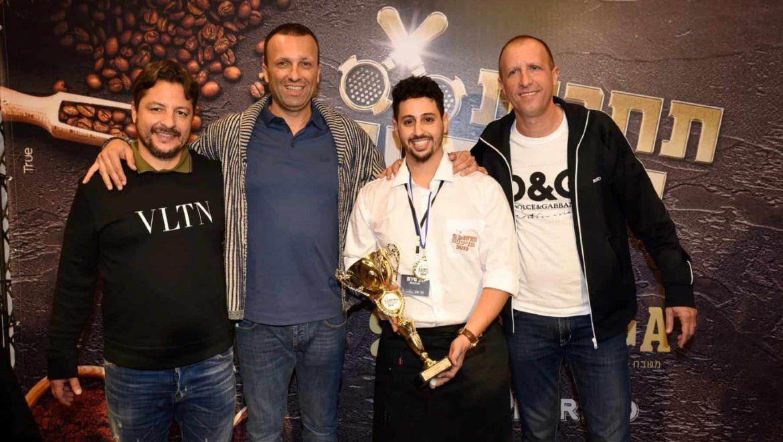 אלוף הבריסטה של ישראל לשנת 2019: דולב שירום  בן  24