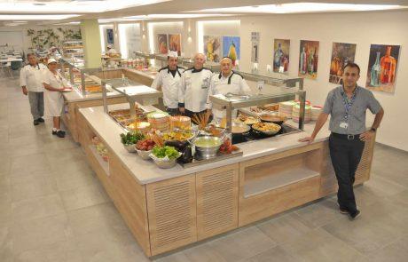 """ביה""""ח כרמל: חדר האוכל והמנות שודרגו"""