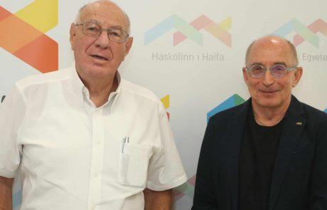 """אוני' חיפה: עו""""ד דב ויסגלס התמנה ליו""""ר הוועד המנהל"""