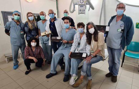 """בביה""""ח כרמל ציינו את יום הרנטגן הבינלאומי"""