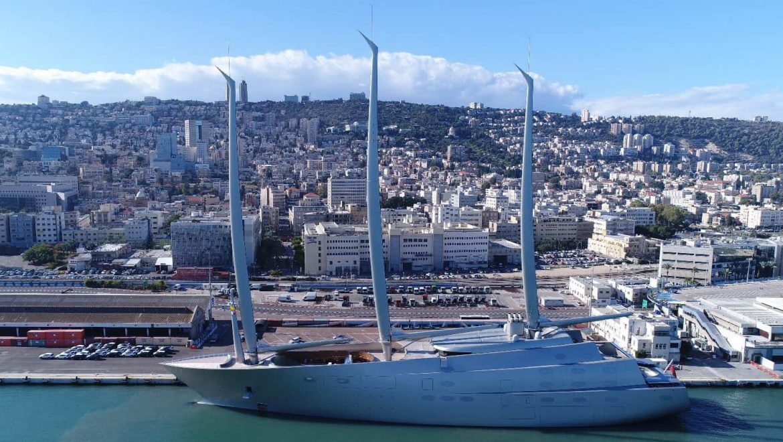 נמל חיפה: אטרקציה היאכטה הגדולה בעולם