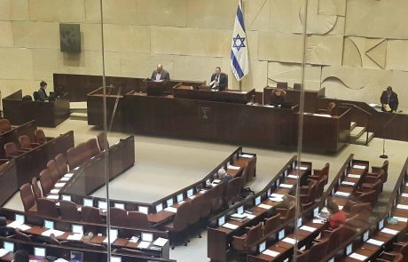 משכן הכנסת: טקס פתיחת הכנסת ה-22