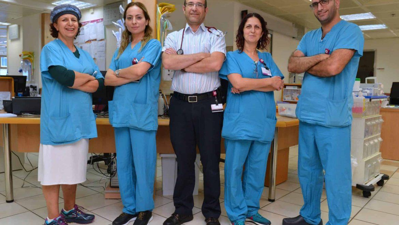 """המכון ההמטולוגי ברמב""""ם חונך יחידה מחודשת לטיפול יום"""