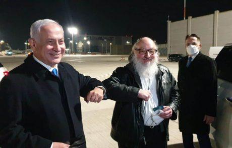 יונתן פולארד ורעייתו נחתו בישראל