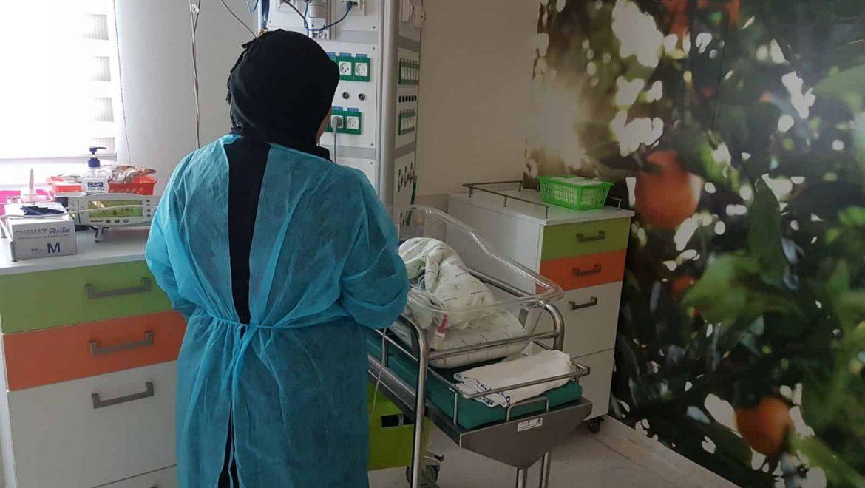 """האישה הסורית בחרה בחיים ובאה ללדת ברמב""""ם"""