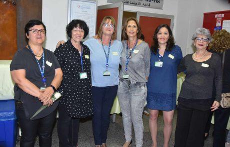 """ביה""""ח כרמל: לרגל שבוע האחיות הבינלאומי נערך יום מיוחד לצוות הסיעוד"""