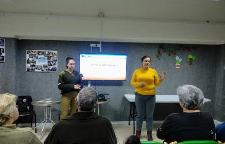 קרית ים: פיקוד העורף עורך הכשרות לעולים חדשים שאינם דוברים עברית