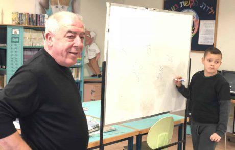קרית ים: ראש העיר אבן צור הפך למורה